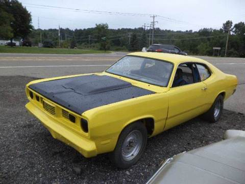 1971 Plymouth Duster for sale at Marshall Motors Classics in Jackson Michigan MI