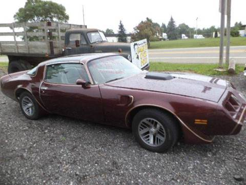 1981 Pontiac Trans Am for sale at Marshall Motors Classics in Jackson MI