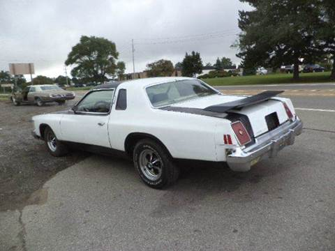 1979 Chrysler Cordoba for sale at Marshall Motors Classics in Jackson Michigan MI