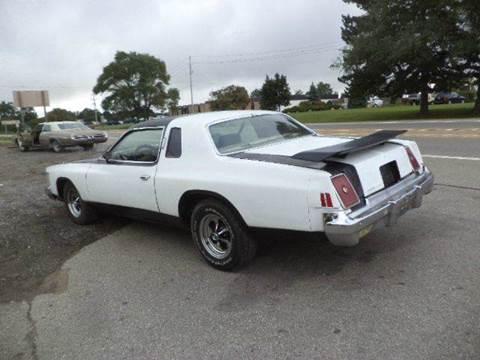 1979 Chrysler Cordoba for sale at Marshall Motors Classics in Jackson MI