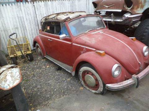1970 Volkswagen convertable for sale at Marshall Motors Classics in Jackson Michigan MI