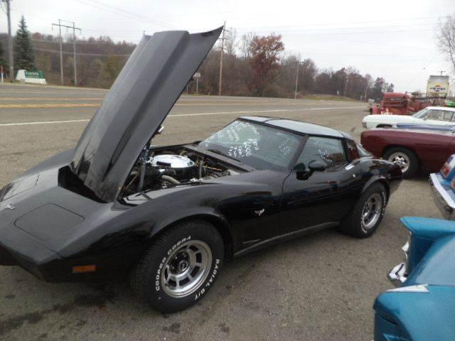 1979 Chevrolet Corvette for sale at Marshall Motors Classics in Jackson Michigan MI