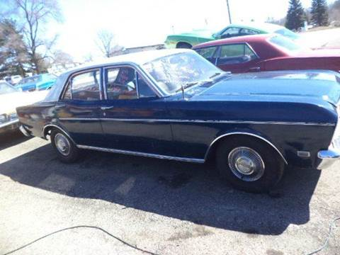 1969 Ford Falcon for sale at Marshall Motors Classics in Jackson MI