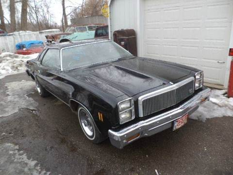 1977 Chevrolet Malibu for sale at Marshall Motors Classics in Jackson Michigan MI