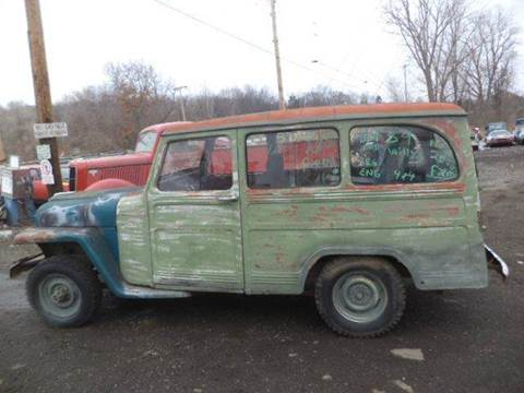 1959 Willys wagon for sale at Marshall Motors Classics in Jackson Michigan MI