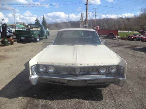 1967 Chrysler Newport for sale at Marshall Motors Classics in Jackson Michigan MI