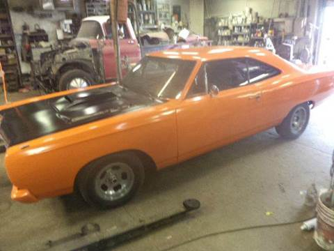 1969 Plymouth Roadrunner for sale at Marshall Motors Classics in Jackson Michigan MI