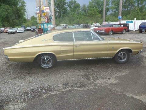 1967 Dodge Charger for sale at Marshall Motors Classics in Jackson Michigan MI