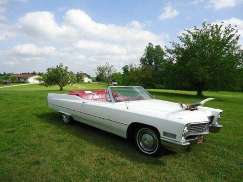 1967 Cadillac Brougham for sale at Marshall Motors Classics in Jackson Michigan MI