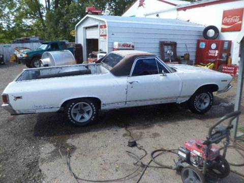 1969 Chevrolet El Camino for sale at Marshall Motors Classics in Jackson Michigan MI