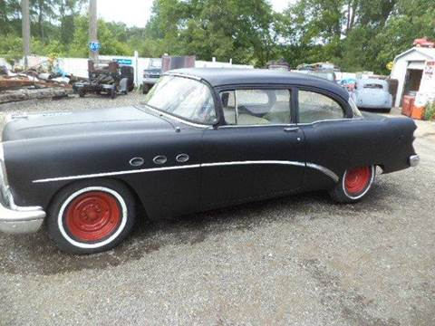 1954 Buick 2 dr for sale at Marshall Motors Classics in Jackson Michigan MI