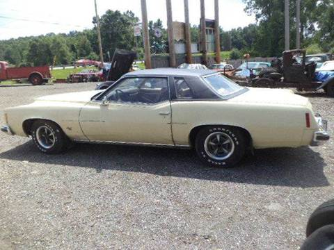 1974 Pontiac Grand Prix for sale at Marshall Motors Classics in Jackson Michigan MI