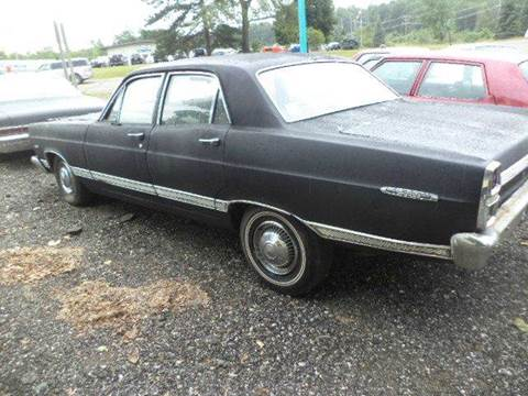 1967 Ford Fairlane for sale at Marshall Motors Classics in Jackson Michigan MI