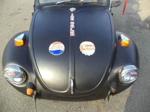 1972 Volkswagen Beetle for sale at Marshall Motors Classics in Jackson Michigan MI