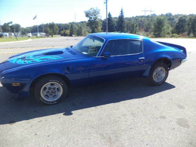 1973 Pontiac Firebird Trans Am for sale at Marshall Motors Classics in Jackson Michigan MI