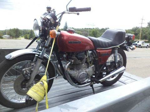 1975 Honda cb 360 t for sale at Marshall Motors Classics in Jackson Michigan MI
