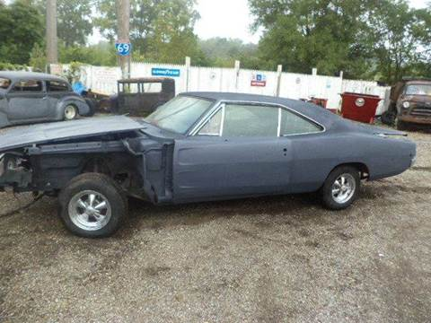 1968 Dodge Charger for sale at Marshall Motors Classics in Jackson Michigan MI