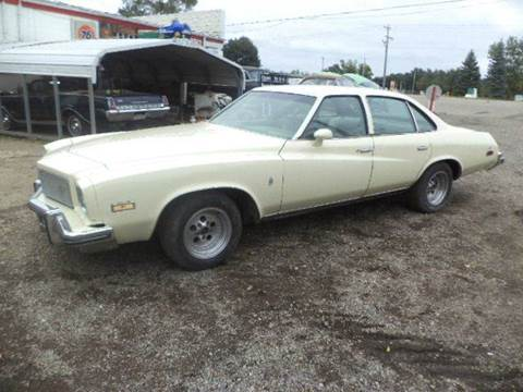 1975 Buick Regal for sale at Marshall Motors Classics in Jackson Michigan MI