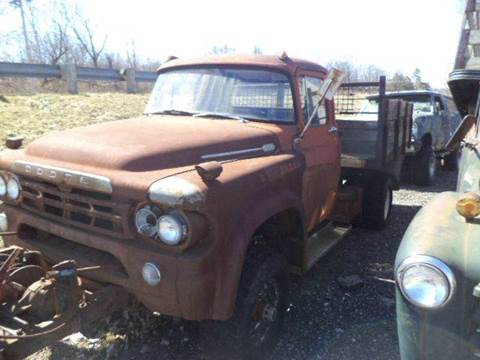 1960 dodge  D 400 d  400  4x4   dump for sale at Marshall Motors Classics in Jackson Michigan MI