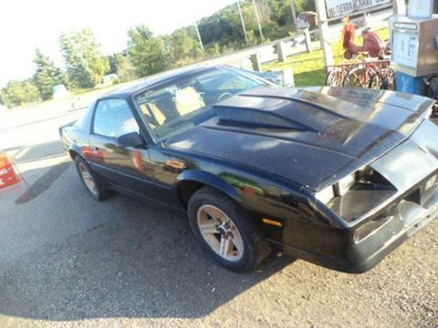 1982 Chevrolet Camaro for sale at Marshall Motors Classics in Jackson Michigan MI
