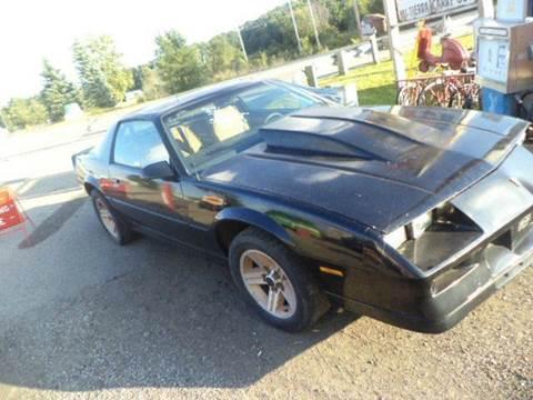 1982 Chevrolet Camaro for sale at Marshall Motors Classics in Jackson MI