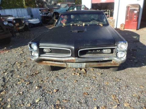 1966 Pontiac GTO for sale at Marshall Motors Classics in Jackson Michigan MI