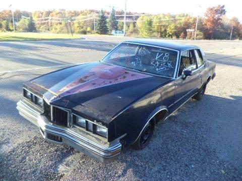 1978 Pontiac Grand Prix for sale at Marshall Motors Classics in Jackson Michigan MI