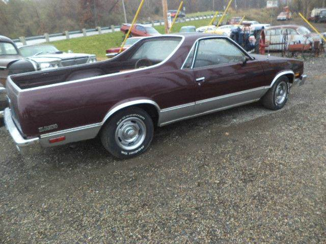 1985 Chevrolet El Camino for sale at Marshall Motors Classics in Jackson Michigan MI