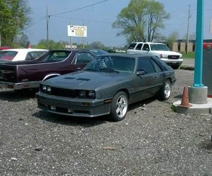1985 Mercury Capri  RS for sale at Marshall Motors Classics in Jackson Michigan MI