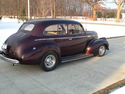 1940 Chevrolet Master Deluxe for sale at Marshall Motors Classics in Jackson Michigan MI