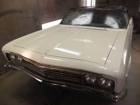 1966 Chevrolet impalla ss    proj car for sale at Marshall Motors Classics in Jackson Michigan MI