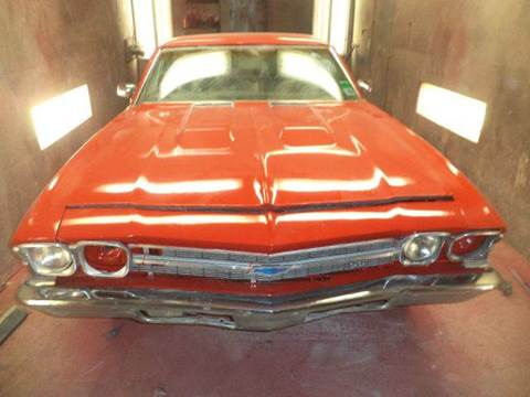 1969 chevy elcomeno ss for sale at Marshall Motors Classics in Jackson Michigan MI