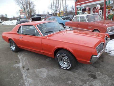 1967 Mercury Cougar for sale at Marshall Motors Classics in Jackson Michigan MI