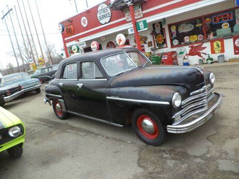 1949 Plymouth Deluxe for sale at Marshall Motors Classics in Jackson Michigan MI