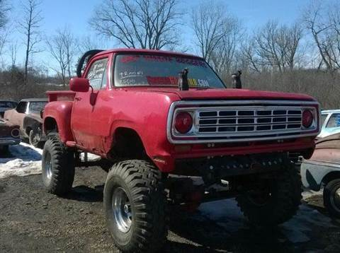 1972 Dodge D250 Pickup for sale at Marshall Motors Classics in Jackson Michigan MI