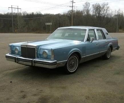 1982 Lincoln Mark VI for sale at Marshall Motors Classics in Jackson Michigan MI