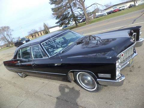 1967 Cadillac Fleetwood for sale at Marshall Motors Classics in Jackson Michigan MI