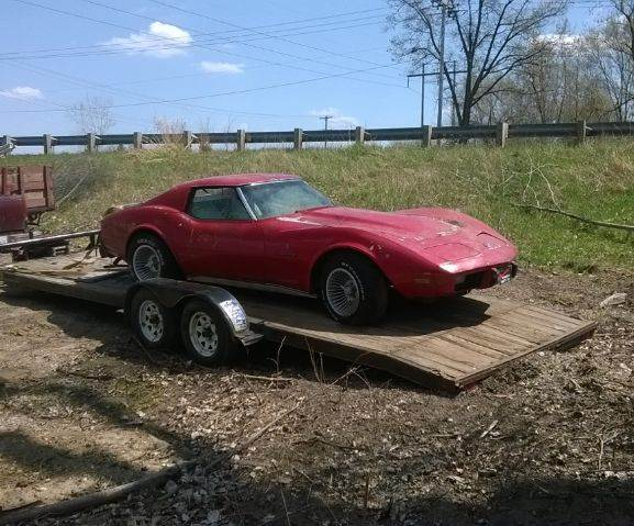 1976 Chevrolet Corvette for sale at Marshall Motors Classics in Jackson Michigan MI