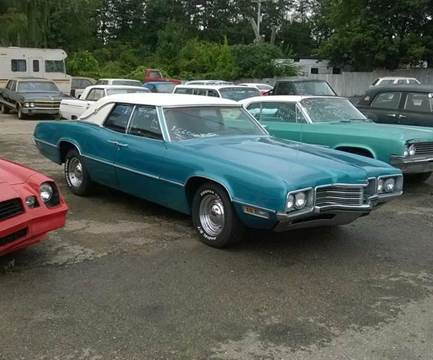 1971 Ford Thunderbird for sale at Marshall Motors Classics in Jackson Michigan MI