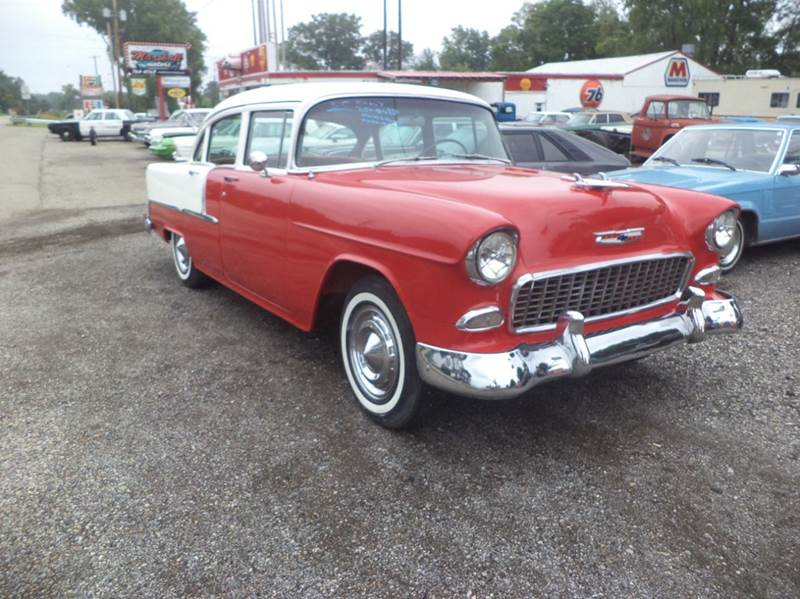 1955 Chevrolet Bel Air for sale at Marshall Motors Classics in Jackson MI