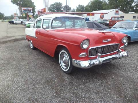 1955 Chevrolet Bel Air for sale at Marshall Motors Classics in Jackson Michigan MI