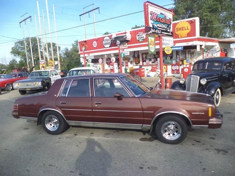 1982 Pontiac Bonneville for sale at Marshall Motors Classics in Jackson Michigan MI