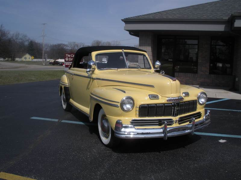 1946 Mercury Convertible for sale at Marshall Motors Classics in Jackson Michigan MI