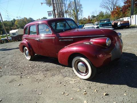 1939 Buick suicide doors for sale at Marshall Motors Classics in Jackson Michigan MI