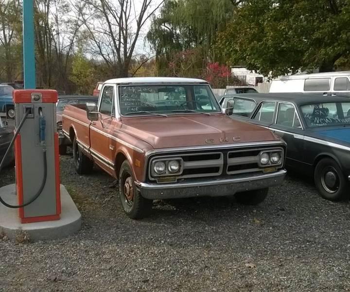 1972 GMC C/K 2500 Series for sale at Marshall Motors Classics in Jackson MI