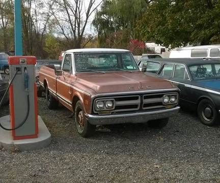1972 GMC C/K 2500 Series for sale at Marshall Motors Classics in Jackson Michigan MI
