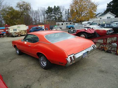 1970 Oldsmobile Cutlass Supreme for sale at Marshall Motors Classics in Jackson Michigan MI