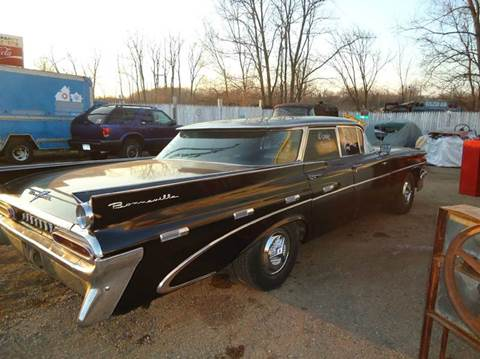 1959 Pontiac Bonneville for sale at Marshall Motors Classics in Jackson Michigan MI