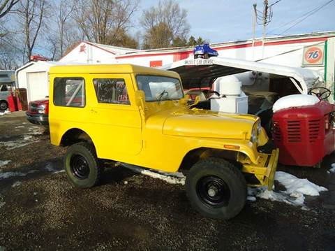 1974 Willys Jeep for sale at Marshall Motors Classics in Jackson Michigan MI