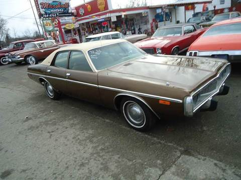 1973 Dodge Coronet for sale at Marshall Motors Classics in Jackson Michigan MI